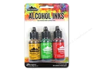 Tim Holtz Alcohol Ink by Ranger .5 oz. Conservatory Set 3 pc.