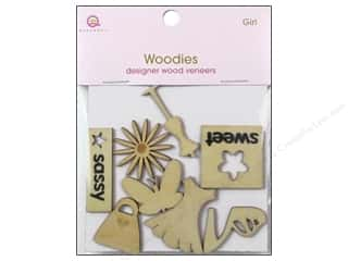 clearance woody: Queen&Co Embellishments Girl Woodies