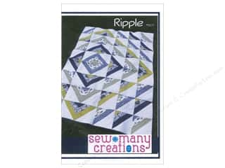 Sewing & Quilting: Sew Many Creations Ripple Quilt Pattern