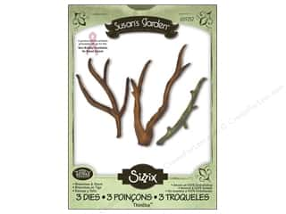 Sizzix Thinlits Die Set 3pk Branches & Stem by Susan Tierney