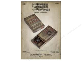 Sizzix Movers & Shapers L Die Matchbox by Tim Holtz