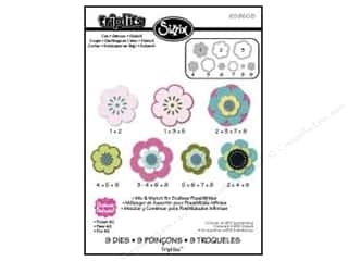 die cutting machines: Sizzix Dies Triplets Flower #2 by Stephanie Barnard