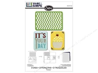 dies: Sizzix Thinlits Die Set 3 pc. Birthday #2