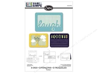 dies: Sizzix Thinlits Die Set 3 pc. Laugh Today