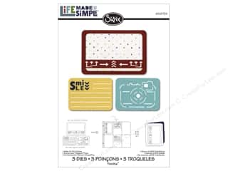 dies: Sizzix Thinlits Die Set 3 pc. Smile For The Camera