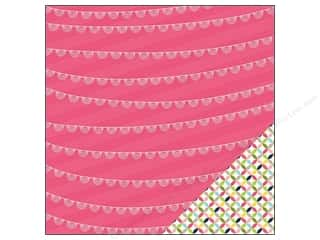 """Spring Printed Cardstock: Imaginisce Paper 12""""x 12"""" Welcome Spring Pinwheel & Banner (25 sheets)"""