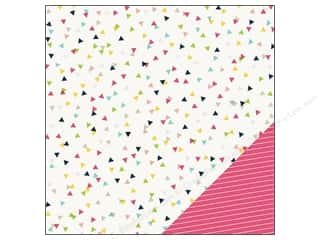 """Spring Printed Cardstock: Imaginisce Paper 12""""x 12"""" Welcome Spring Confetti (25 sheets)"""