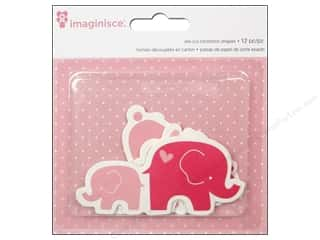 Imaginisce: Imaginisce Die Cut My Baby Girl Bunnies & Elephants