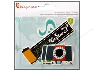 Clearance Pictura Luggage Tag: Imaginisce Die Cut Perfect Vacation Flashy
