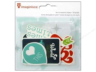 Imaginisce: Imaginisce Die Cut Perfect Vacation Heart This