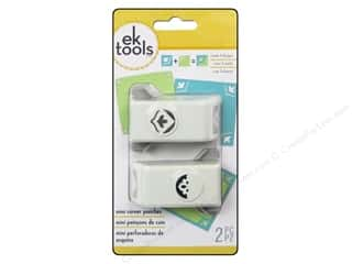 EK Paper Shapers Mini Corner Punch Sentiment 2pc