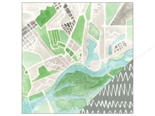 "Studio Calico Paper 12""x 12"" Wanderlust Addison Avenue (25 sheets)"