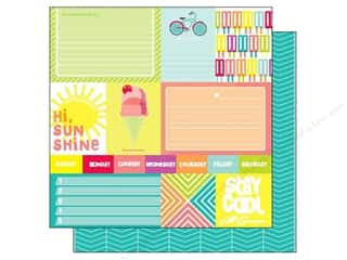 American Crafts 12 x 12 in. Paper Summer Sunny Day (25 sheets)