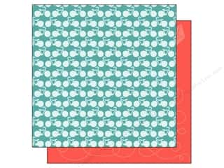scrapbooking & paper crafts: American Crafts 12 x 12 in. Paper Summer Collecton Bicycles (25 sheets)