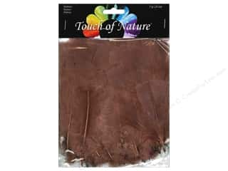 Feathers: Midwest Design Turkey Flat Feathers 14 gm. 4 - 6 in. Sienna