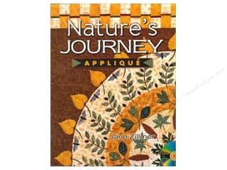 American Quilter's Society Nature's Journey Applique Book