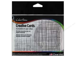 "Cards & Envelopes  4.25"" x 5.5"": ColorBox Creative Cards and Envelopes Burlap"