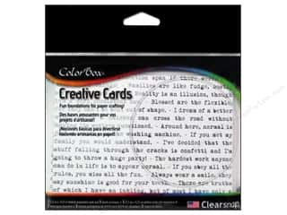 "Cards & Envelopes  4.25"" x 5.5"": ColorBox Creative Cards and Envelopes Humor"