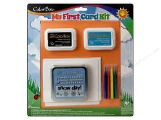 stamps: ColorBox Kit My First Card Snowflake