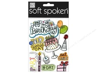 Me & My Big Ideas Soft Spoken Stickers Eat Cake