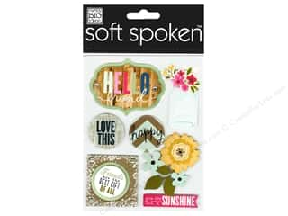Me & My Big Ideas Soft Spoken Stickers Hello Friends Jar