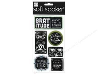 Me & My Big Ideas Soft Spoken Stickers Chalk Gratitude