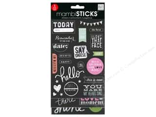 Me&My Big Ideas Sticker Sticks Chalk Today