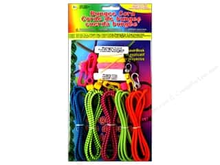 beading & jewelry making supplies: Pepperell Bungee Cord Super Value Pack Neons