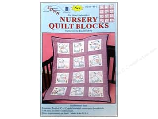 yarn & needlework: Jack Dempsey 9 in. Quilt Blocks 12 pc. Sunbonnet Sue