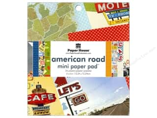 "Clearance Paper House Magnet: Paper House Paper Pad 6"" American Road"
