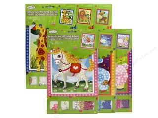 Weekly Specials Tombow Adhesives: Multicraft Krafty Kids DIY Picture Board Assorted 6 Styles Animal (36 sets)