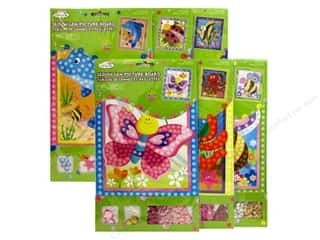 Weekly Specials Scrapbooking Kits: Multicraft Krafty Kids DIY Picture Board Assorted 6 Styles Critter Fun (36 sets)