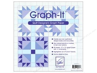 June Tailor Graph It Quilt Designer's Graph Paper 20 pc.
