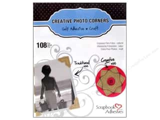 photo corner paper punch: 3L Scrapbook Adhesives Photo Corners Paper 126 pc. Kraft