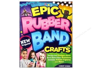 beading & jewelry making supplies: Design Originals Epic Rubber Band Crafts Book