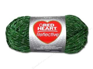 yarn: Red Heart Reflective Yarn 88 yd. #8699 Olive