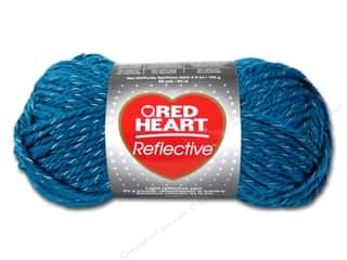 yarn & needlework: Red Heart Reflective Yarn 88 yd. #8884 Peacock