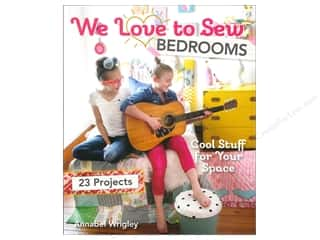 FunStitch Studio By C&T We Love to Sew Bedrooms Book