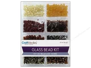 projects & kits: Multicraft Bead Glass Kit Mix Nuggets