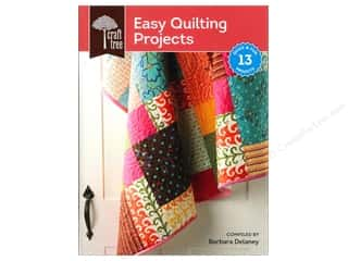 books & patterns: Interweave Press Craft Tree Easy Quilting Projects Book