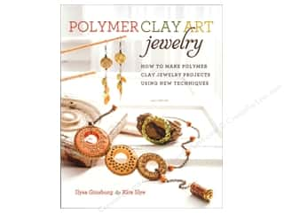 Clearance: Krause Publications Polymer Clay Art Jewelry Book