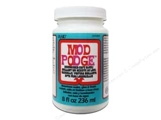 glues, adhesives & tapes: Plaid Mod Podge 8 oz. Dishwasher Safe Gloss