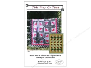 Cottontail Quilts This Way Or That Pattern