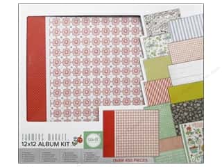 "Holiday Sale Printed Cardstock: We R Memory Album Kit 12""x 12"" Farmer's Market"