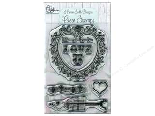 """Valentines Day Gifts Stamps: Marion Smith Stamp Set 3""""x 4"""" Love U"""