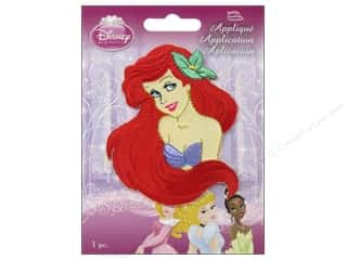 Simplicity Disney Iron On Appliques Small Ariel