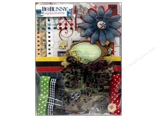 Best of 2012 Bo Bunny Paper & Sticker Collection Pack: Bo Bunny Ephemera Pop Quiz
