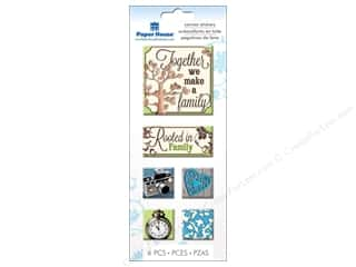 Clearance We R Memory Sew Ribbon Ribbon: Paper House Sticker Canvas Family