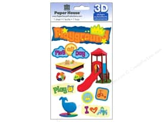 Caption Stickers / Frame Stickers: Paper House Sticker 3D Playground