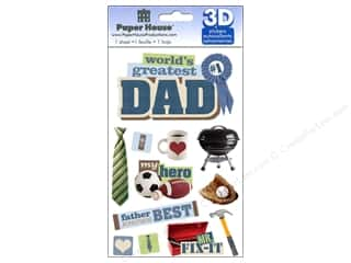 scrapbooking & paper crafts: Paper House Sticker 3D Dad
